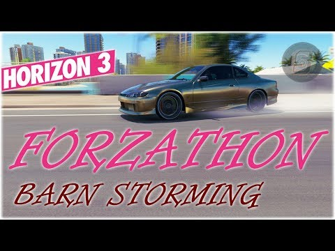 #Forzathon Barn Storming - Completing Challenges + Barn Find Rumors - Forza Horizon 3 Forzathon
