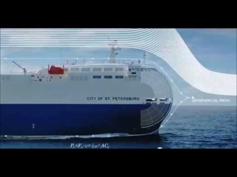 Energy Efficient Ship- Built by Nissan - The City of St. Petersburg