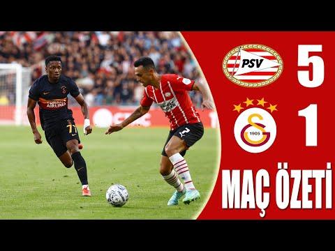 PSV 5-1 Galatasaray Özet Şampiyonlar Ligi Ön Eleme