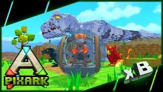 Indominus Rex in PixARK :: Jurassic PixARK :: PixARK Mods!