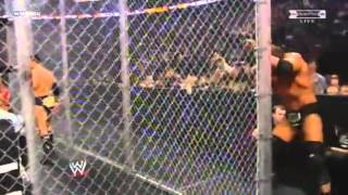 WWE DX vs. Legacy Hell in a cell 2009