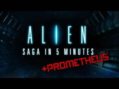 The Alien Saga in 5 Minutes!!!