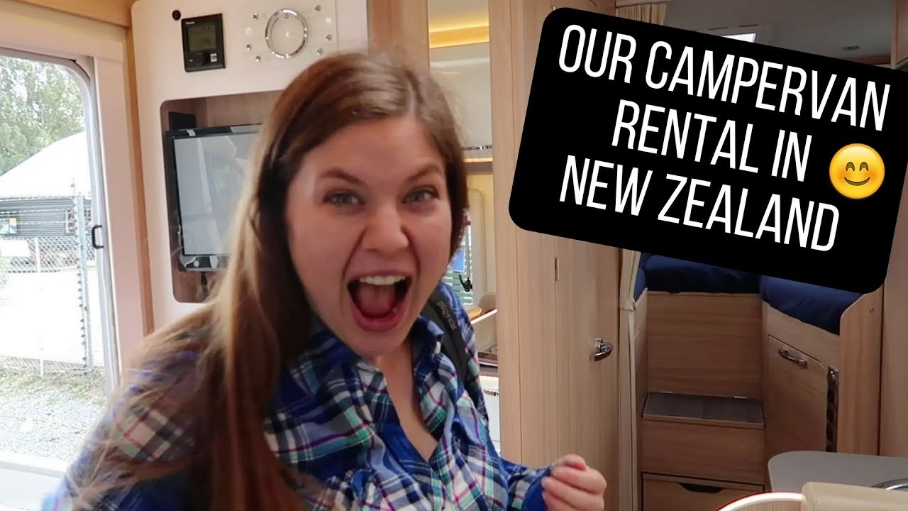 Picking Up Our Campervan Rental In New Zealand Nz Ep 3
