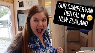 Picking up our Campervan Rental in New Zealand! NZ Ep. 3