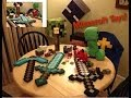 Minecraft toy collection