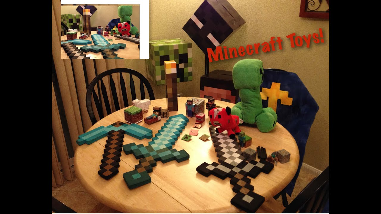 Minecraft Toy Collection Youtube