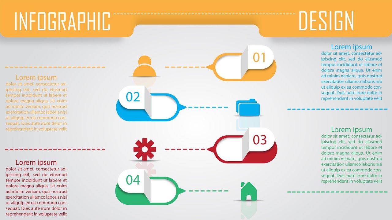 Infographic Design | Illustrator & Photoshop Tutorial | by ...