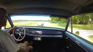 1963 Chevy Ii Nova Gasser 2nd Gear Burnout