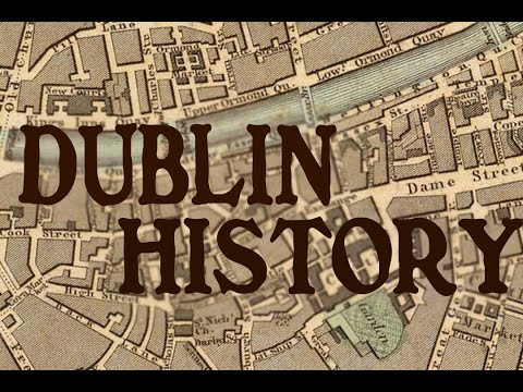 Dublin Ireland History And Cartography (1836)