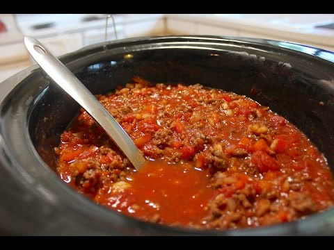 How to make the best chili without beans in a crock pot