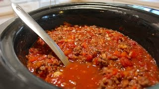 Easy Slow Cooker Chili Recipe: How To Make Chili In A Crock Pot