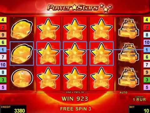 Игровой автомат Power Stars играть бесплатно и без регистрации онлайн