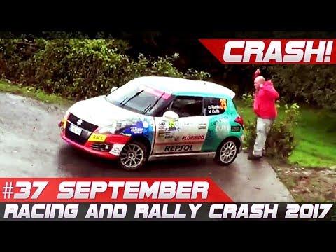 Racing and Rally Crash Compilation Week 37 September 2017