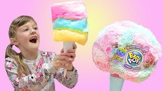 IS ANYTHING BETTER THAN REAL COTTON CANDY? Toys Vs Cotton Candy Food!