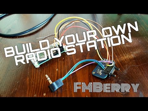 FMBerry - Build your own cheap FM Radio Station!