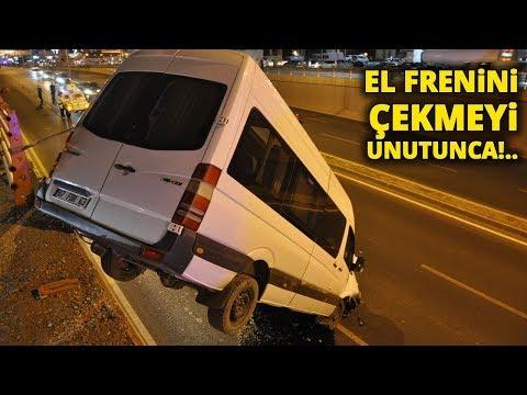 El Frenini Çekmeyi Unutunca Minibüsü...