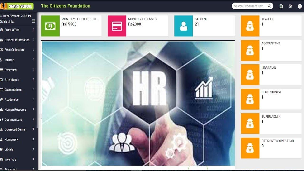 Human Resource Management In Smart School