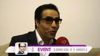 Omid Interview In Antalya Concert - مصاحبه با امید درکنسرت آنتالیا