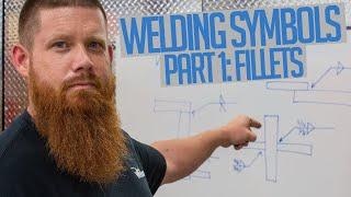 How to Read Welding Symbols: Part 1 - Fillet Welds