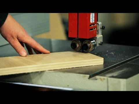 How To Use A Band Saw Woodworking Youtube