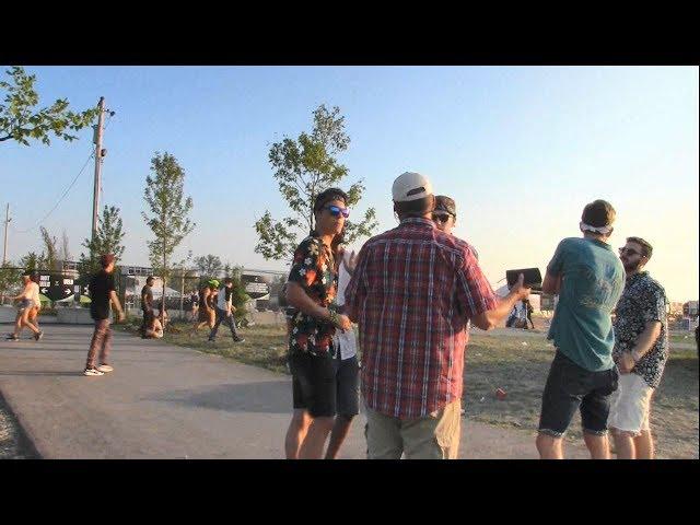 Techno Music Festival Street Preaching - Toronto, Canada - Kerrigan Skelly