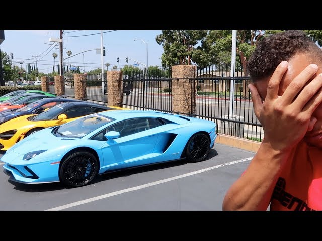 THE UGLY TRUTH ABOUT ME BUYING A LAMBORGHINI AVENTADOR! *BAD NEWS*