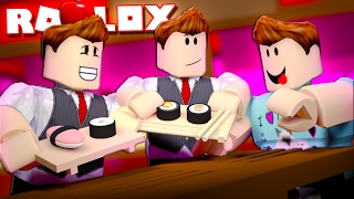 WORKING AT A CHINESE RESTAURANT IN ROBLOX!