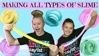 Making ALL Types of SLIME!