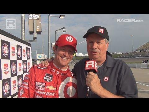 RACER: Scott Dixon Iowa Pole Winner