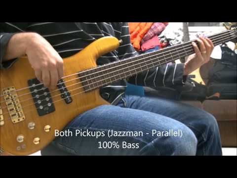 Warwick Streamer Jazzman Vs. Warwick Streamer Stage 1 - Demo