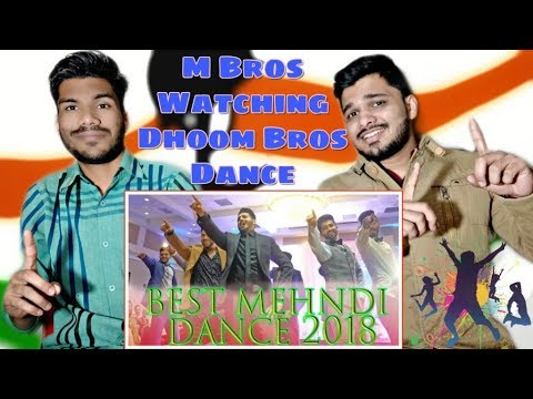 INDIAN Reacts To Hussain's Shaadi - Best Mehandi Walima Fortnight Dance 2018 - Dhoom Bros