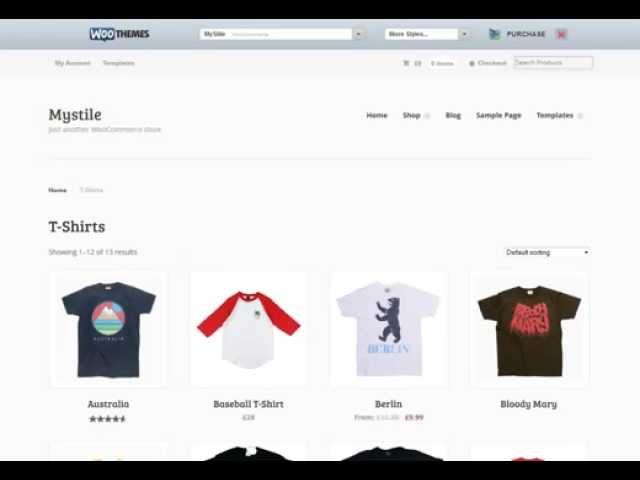 Woocommerce: отображение товаров с определённой категории