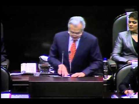 Senador Manuel Bartlett (PT) - Primer Informe de Gobierno