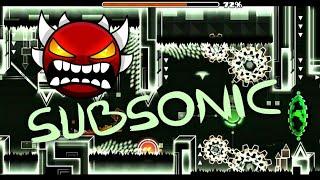 """SubSonic - Сложнейший """"Sonic"""" уровень"""