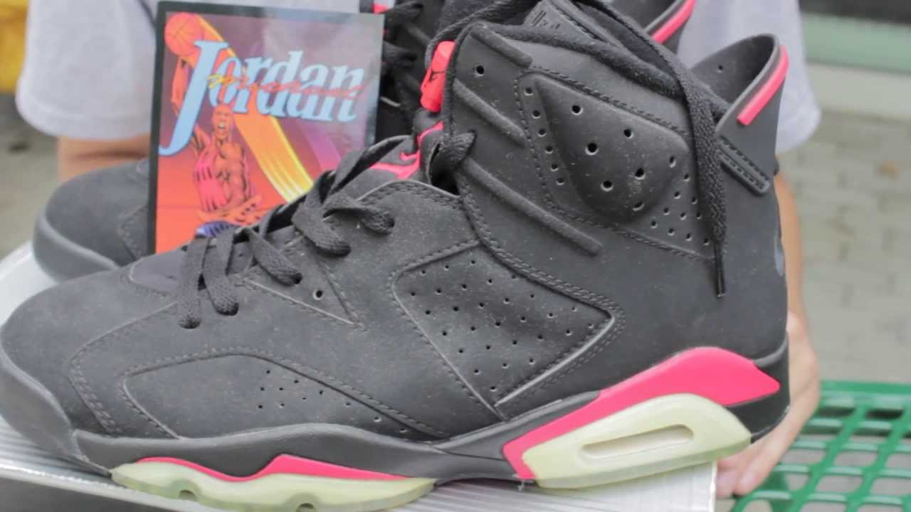 e12bd0a1844a23 2000 Nike Air Black Infrared 6s Review - No Crumbling - YouTube