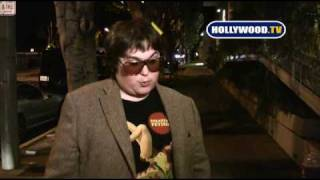 Andy Milonakis Raps At Madeo.