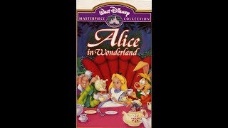 Opening to Alice in Wonderland 1996 VHS