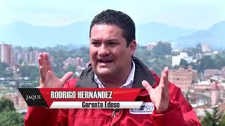 Rodrigo Hernández, gerente EDESO, estuvo en JAQUE y hablo de su futuro político
