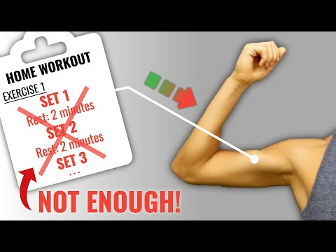 How To Build MORE Muscle With Home Workouts (4 Science-Based Methods)