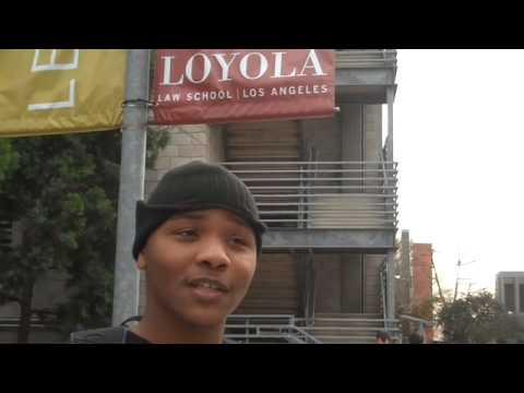 Torry's Road to Law School: Loyola Law School Tour PT. 2