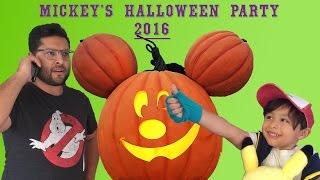 Mickey&#39s Halloween Party 2016