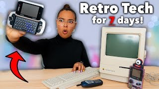 I Lived a Retro Tech Life for 7 Days!👾Natalies Outlet