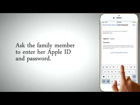 How to  Add Family Members to Family Sharing In iPhone