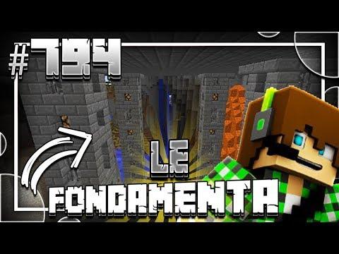Minecraft ITA - #794 - LE FONDAMENTA DEL CASTELLO