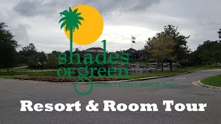 Shades of Green at Walt Disney World - Resort and Room Tour