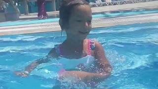 Antalya Kemer Dolusupark Aqualand Elifin Aquapark keyfi 2,Eğlenceli çocuk videosu (2/3)