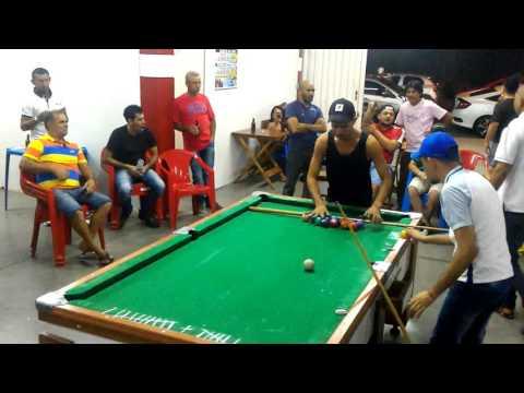 Tiquinho Sergipe x Rafinha Mato Grosso em Limeira World Snooker Bar , 2.000 reais que faz 04
