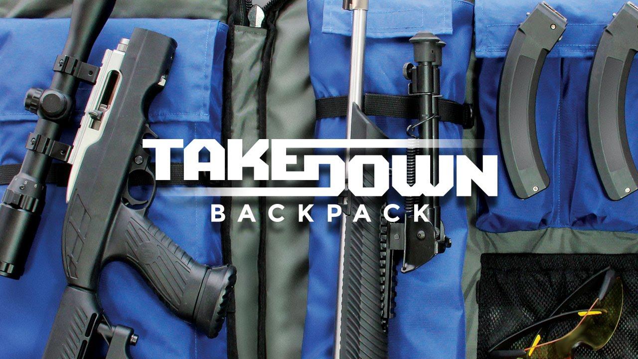 copper basin ruger 10 22 takedown backpack youtube