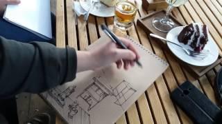 как рисовать speedsketch с натуры