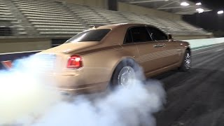 Rolls Royce Ghost - The Ghost Goes Up Into The Smoke!